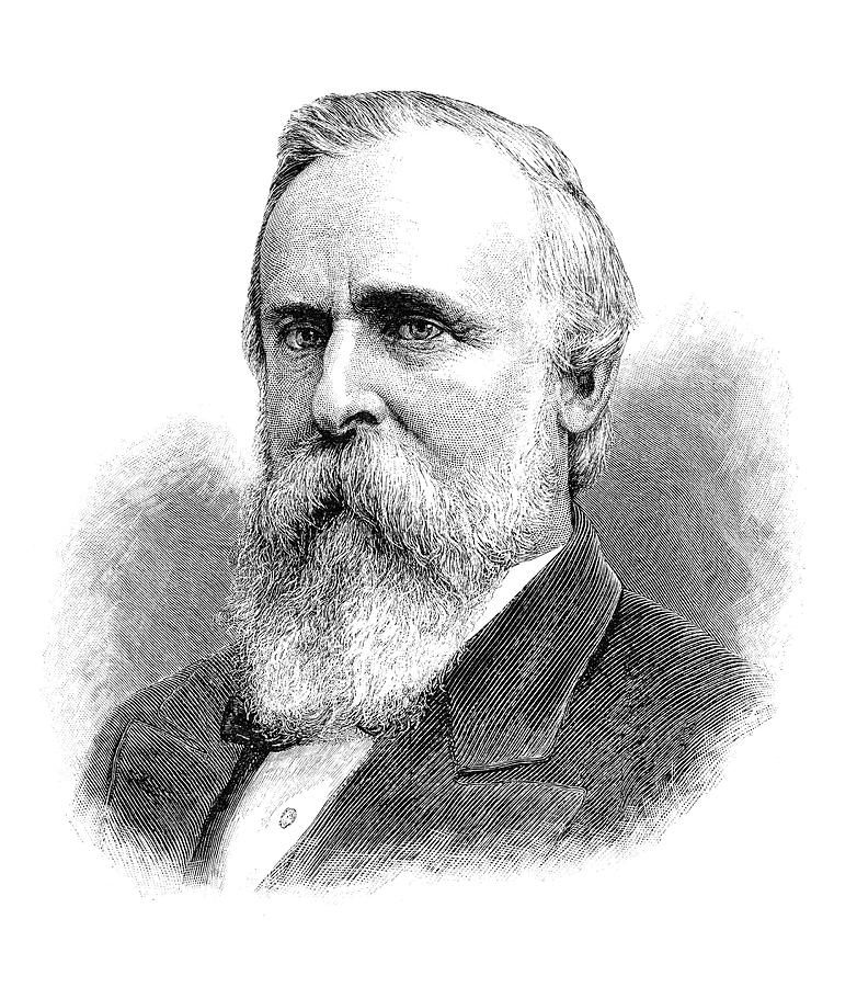 1893 Painting - Rutherford B by Granger