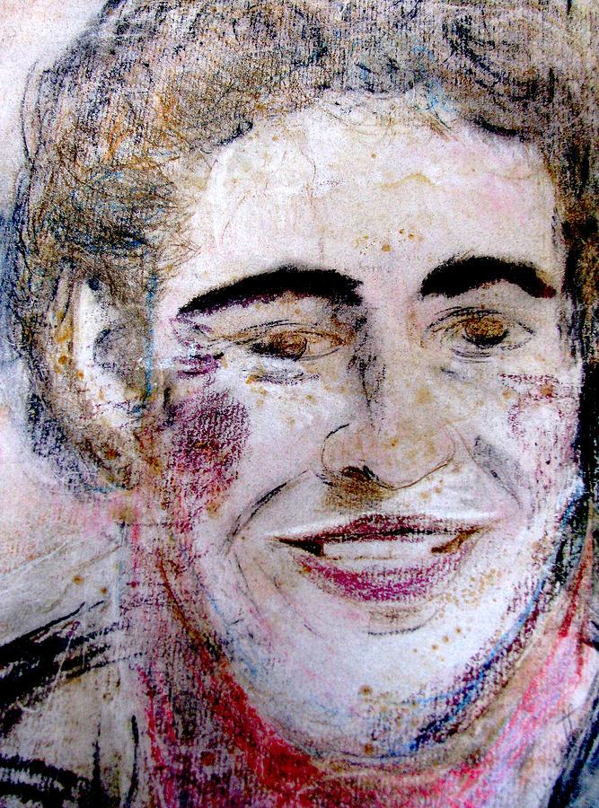 Bruce Painting - Ruthies Bruce by Melinda Saminski