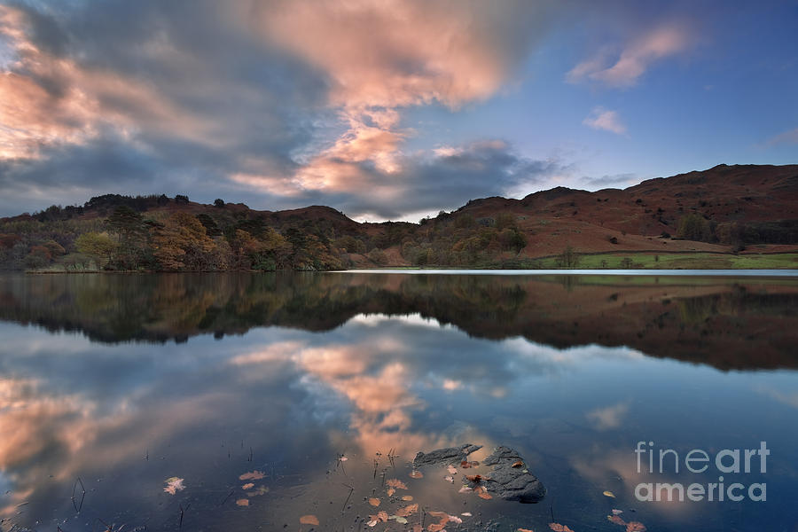 Lake District Photograph - Rydal Water by Rod McLean