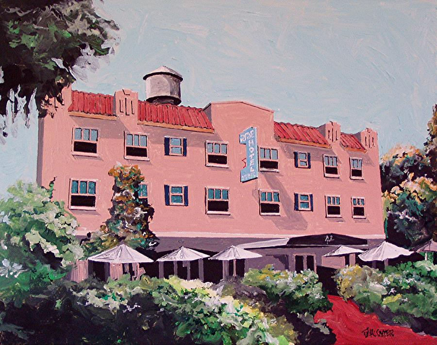 Sacramento Painting - Ryde Hotel by Paul Guyer