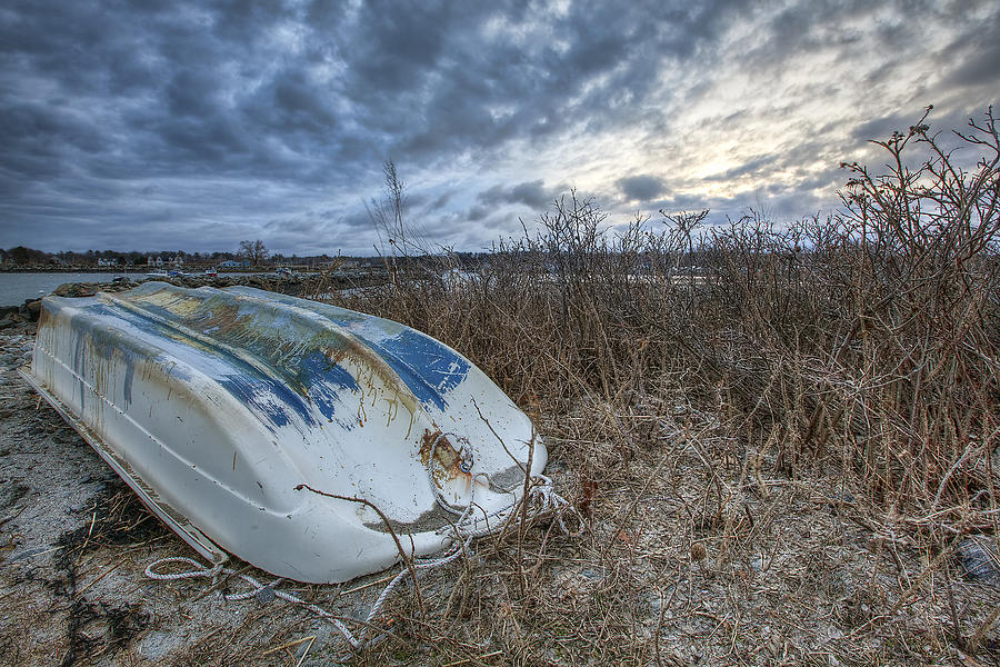 Rye Photograph - Rye Dinghy by Eric Gendron