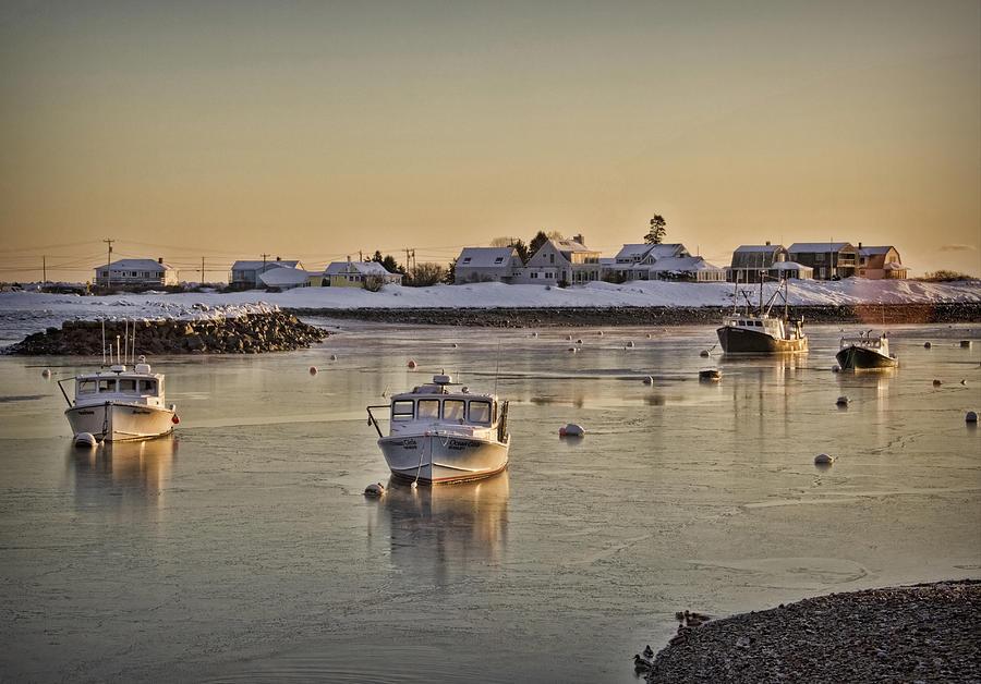 Harbor Photograph - Rye Harbor by Diana Nault