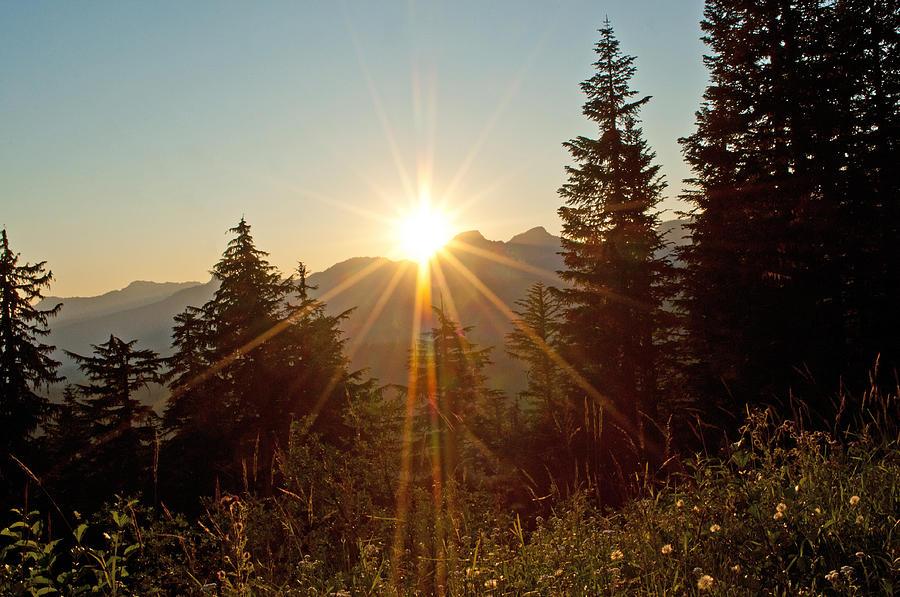 Sunset Photograph - Sabbath Sunset by Tikvahs Hope