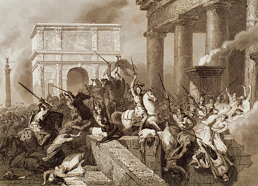 a report on the visigoths and athenians