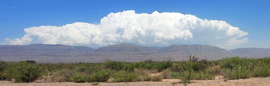Sacramento Mountains Storm Clouds Photograph by Jack Pumphrey