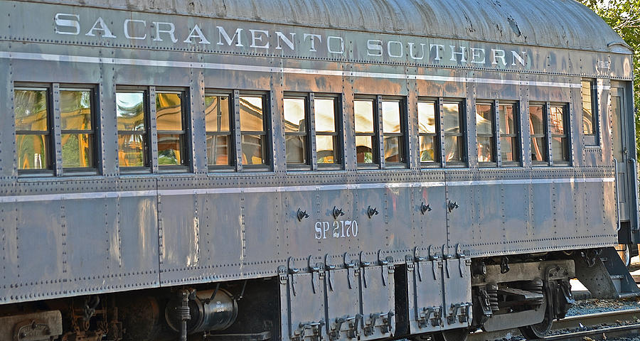Sacramento Photograph - Sacramento Southern S P 2170 by Bill Owen