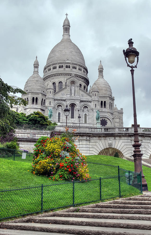 Sacre Photograph - Sacre Coeur Cathedral by Ioan Panaite
