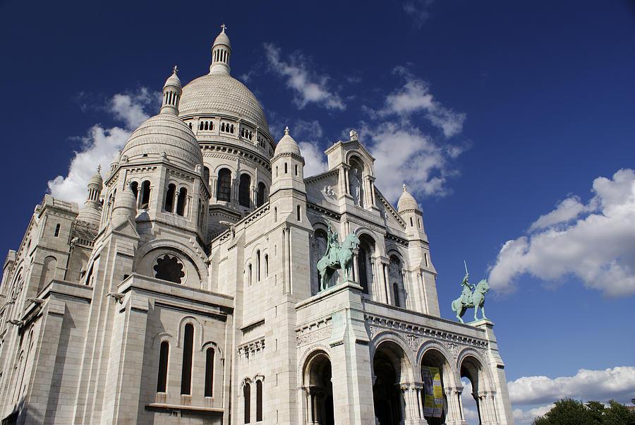 Sacre Coeur Photograph - Sacre Coeur Paris by Gary Eason