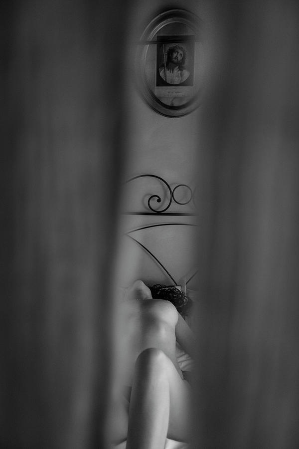 Fine Art Nude Photograph - Sacred And Profane.... by Russo Francesco