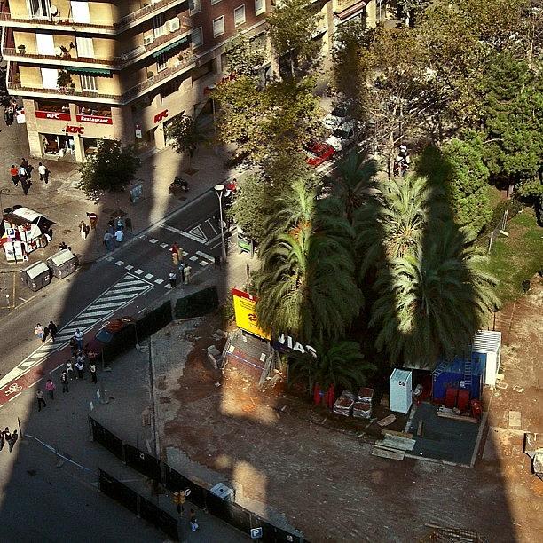 Sagrada Photograph - Sacred Familys Shadow Projection by Carlos Alkmin