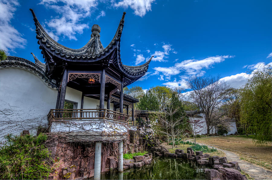 Sacred Garden Photograph - Sacred Garden by Johnny Lam