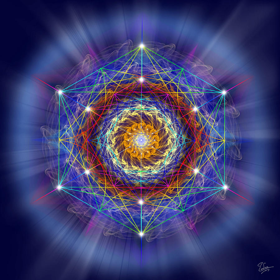 Sacred Geometry 167 Digital Art By Endre Balogh