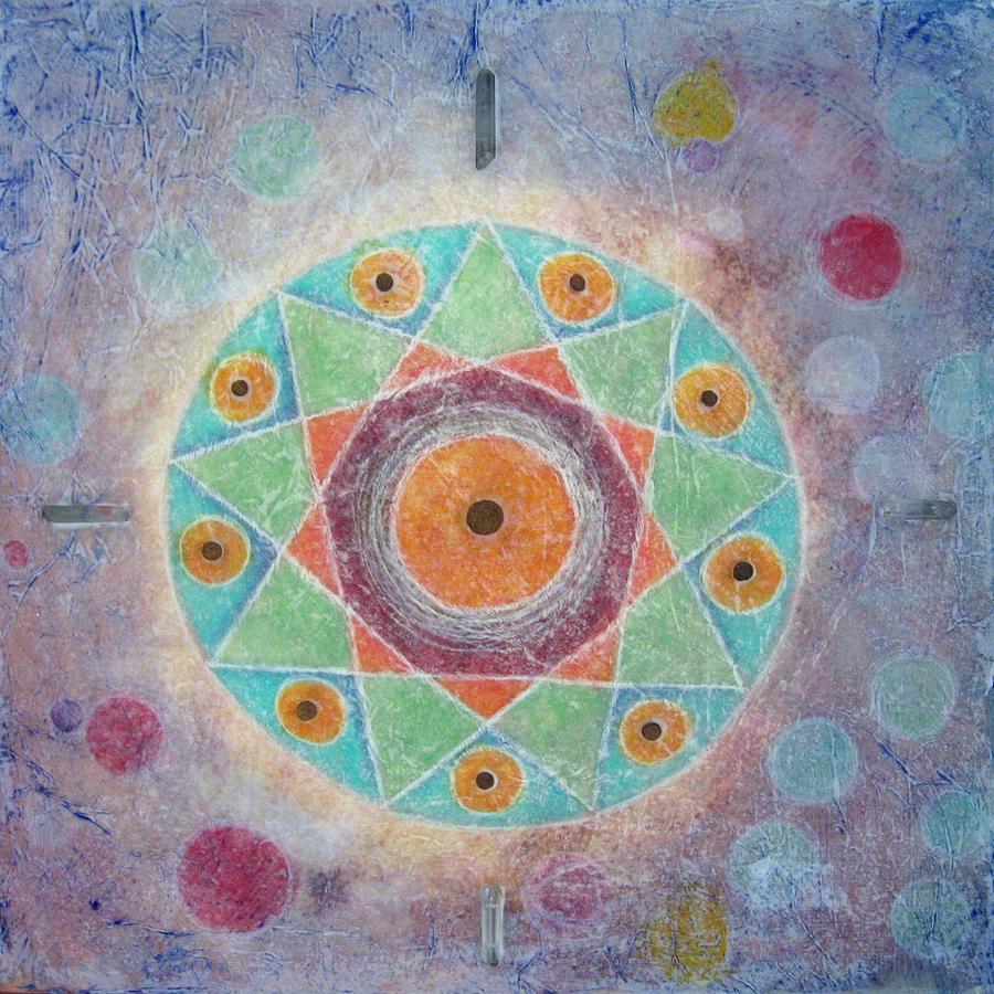 Sacred Nine by Janelle Schneider