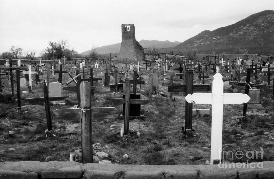 Cemetery Photograph - Sacred Places by Crystal Nederman