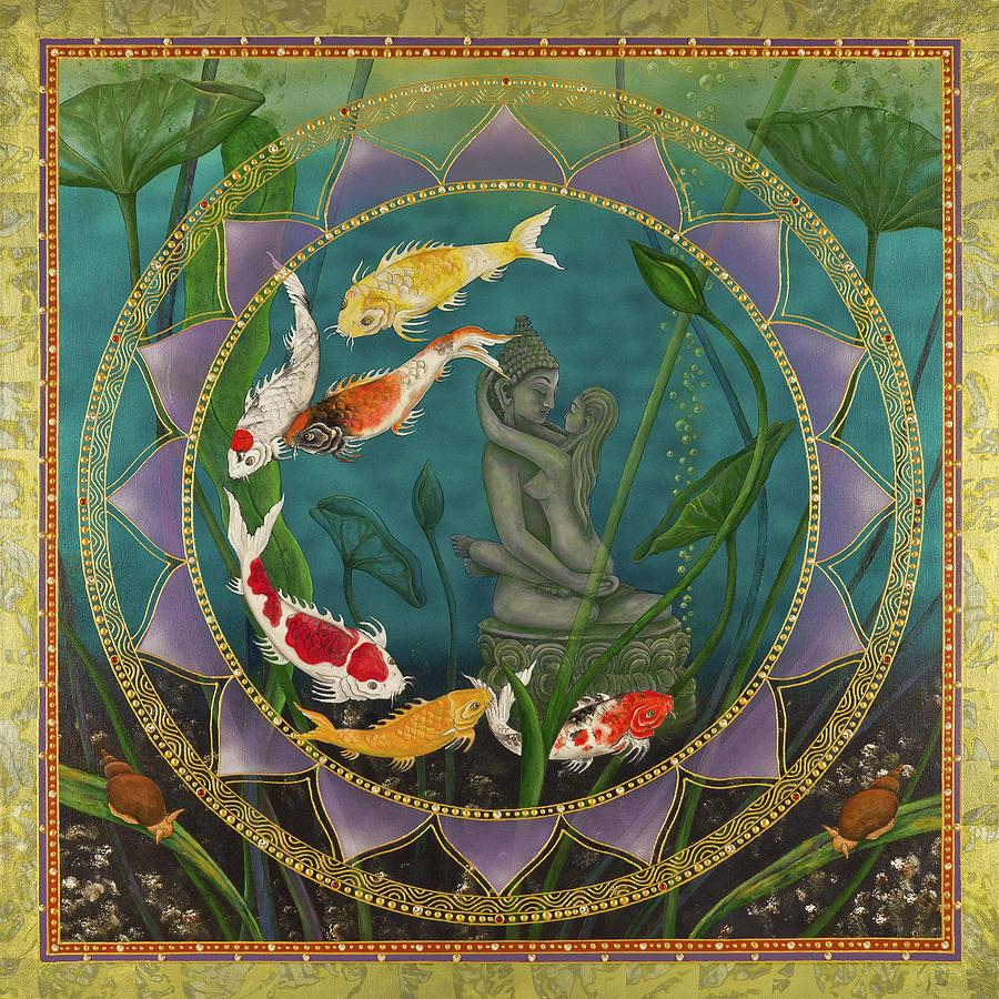 Sacred Pond by Nadean OBrien