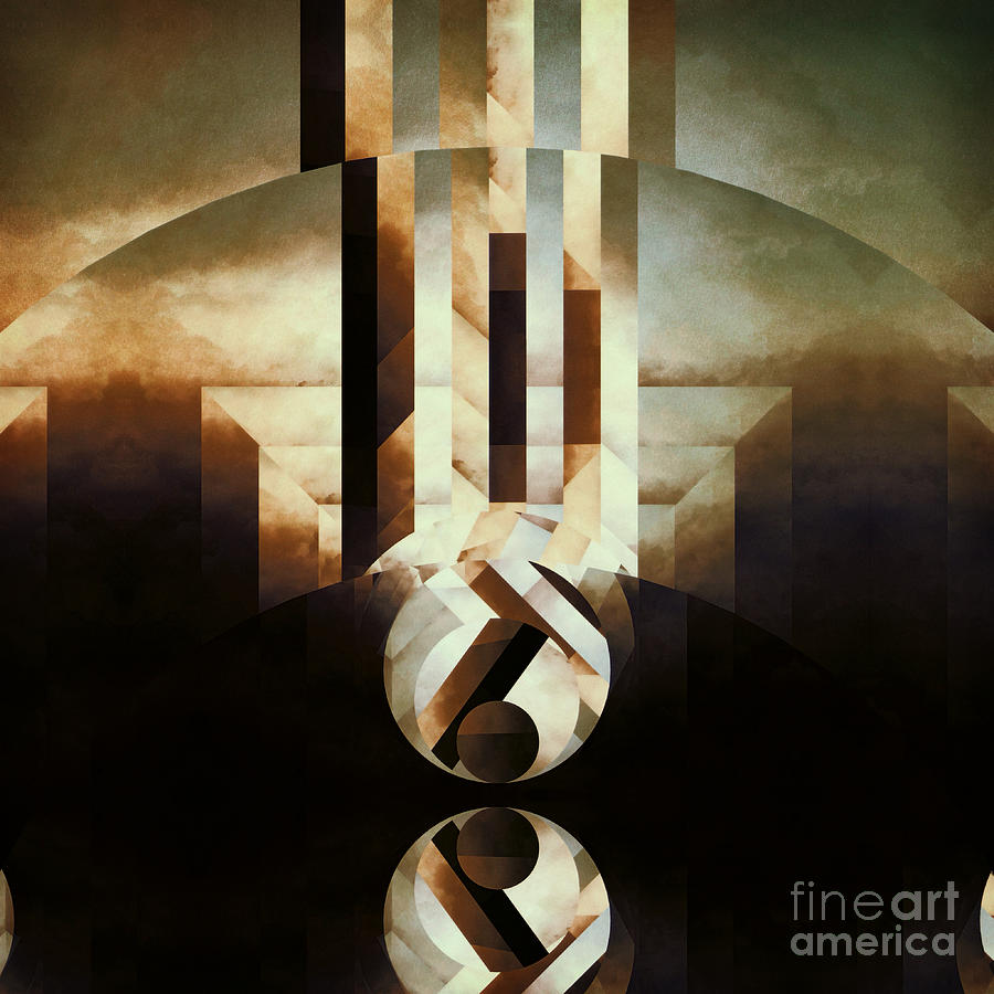 Abstract Painting - Sacred Reality by Lonnie Christopher