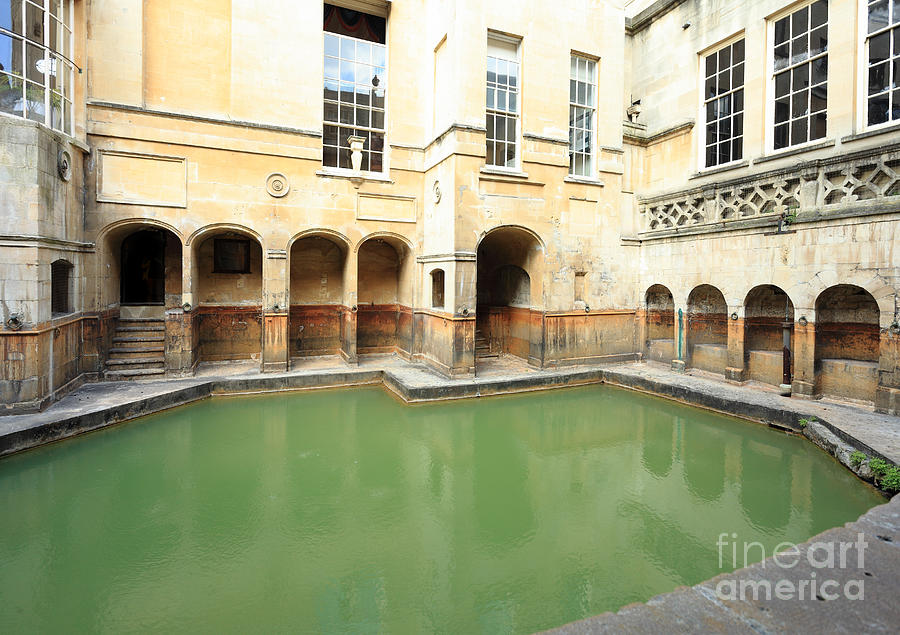 Roman Baths Photograph - Sacred Roman Spring by Paul Cowan
