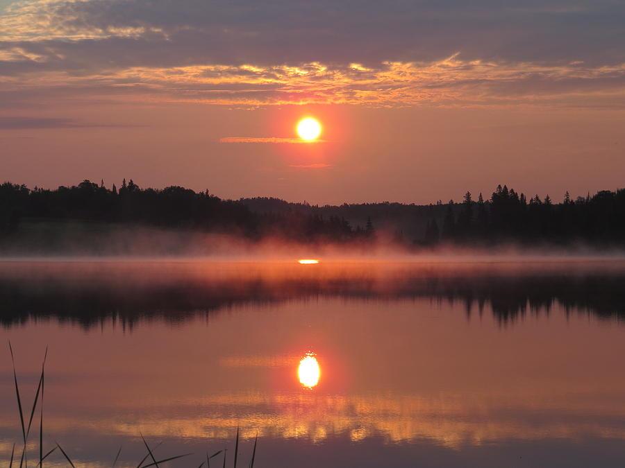 Sacred Sunrise Photograph by Alex  Call