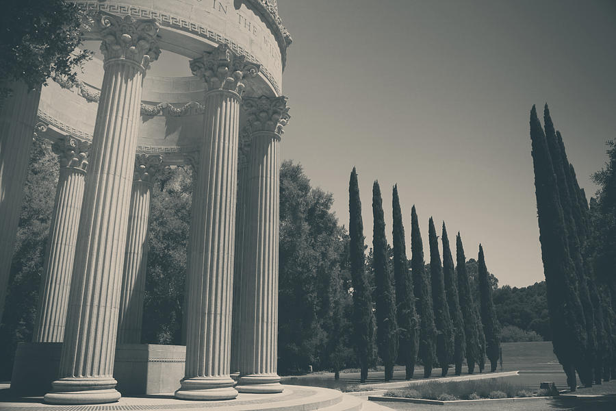 Pulgas Water Temple Photograph - Sacred Things by Laurie Search