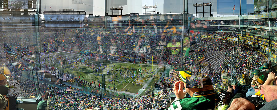 Green Bay Packers Photograph - Sacred Tundra by Stephen Farley