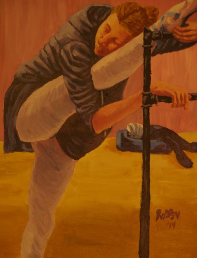 Portrait Painting - Sacrifice by David  Rodden