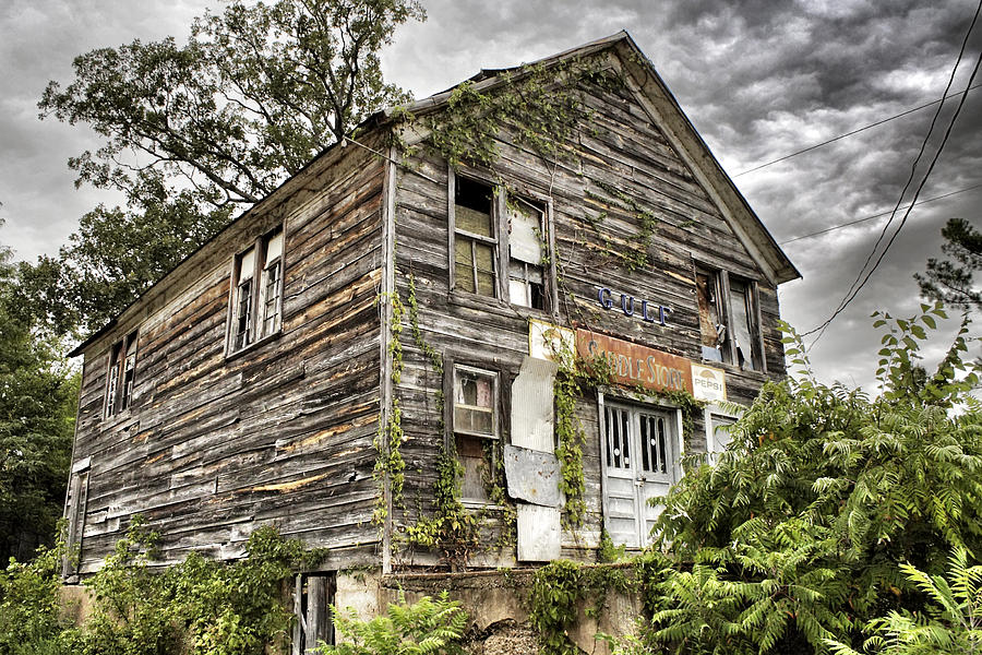 Rustic Photograph - Saddle Store 1 Of 3 by Jason Politte
