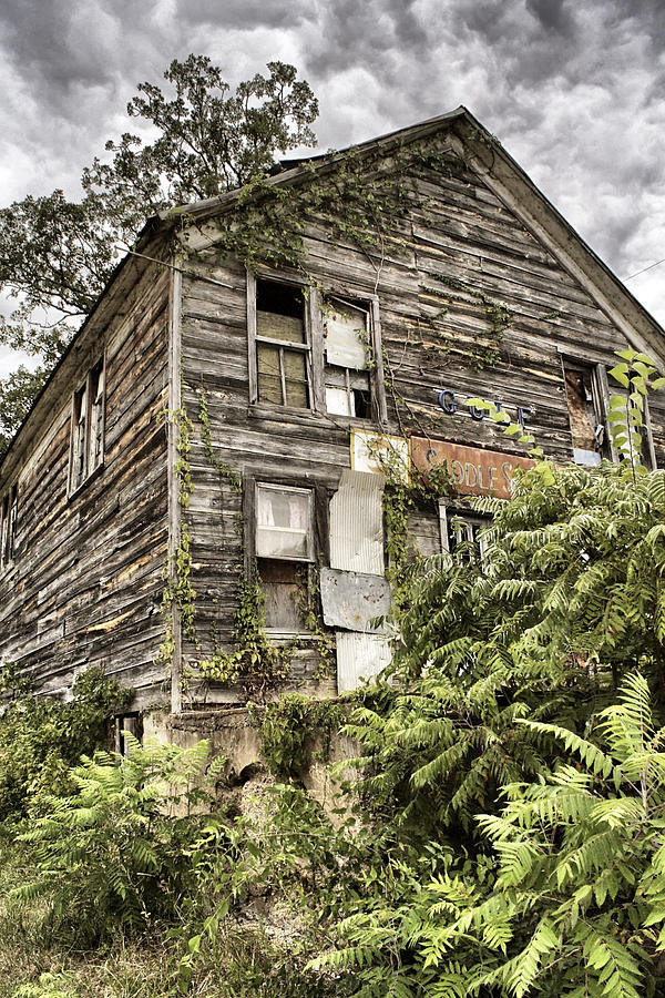 Rustic Photograph - Saddle Store 2 Of 3 by Jason Politte