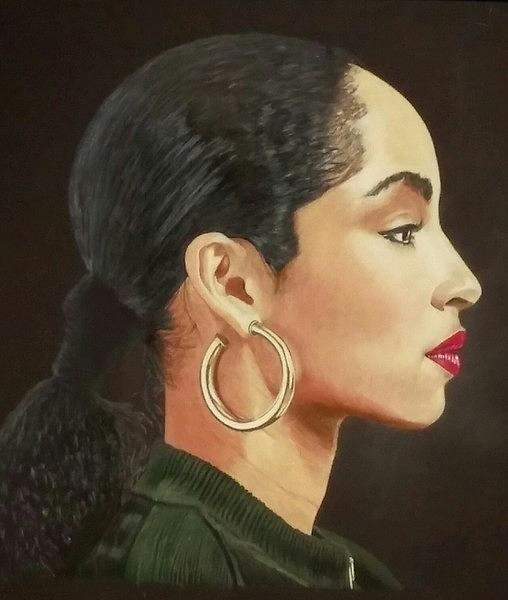 Excellent Sade Adu Drawing By Ascension Nelson Download Free Architecture Designs Scobabritishbridgeorg