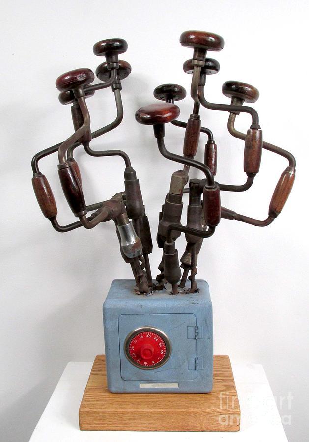 Czappa Sculpture - Safe Bouquet  #62 by Bill Czappa