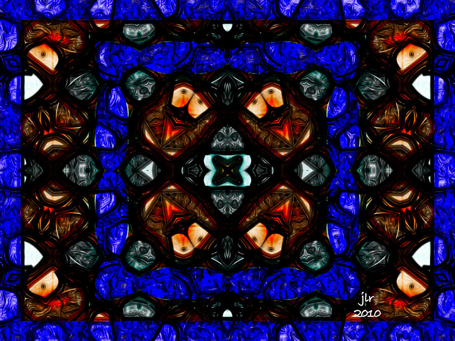 Fractal Digital Art - Safe Crackin by Janet Russell