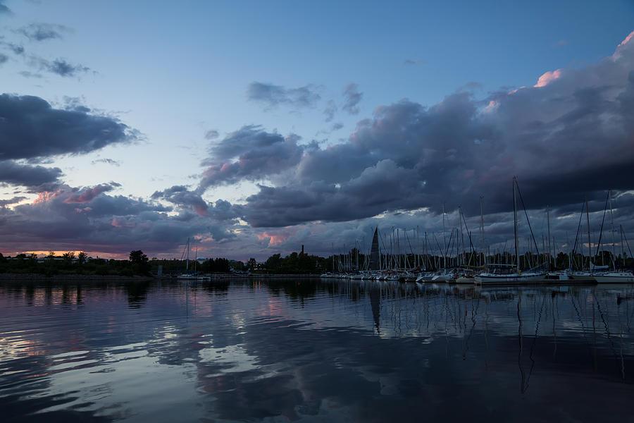 Safe Harbor Photograph - Safe Harbor After The Storm by Georgia Mizuleva
