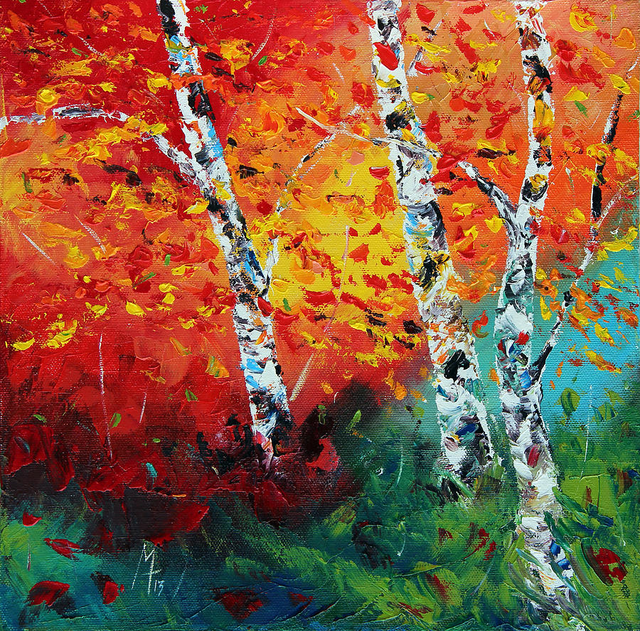 Autumn Painting - Safe Haven by Meaghan Troup