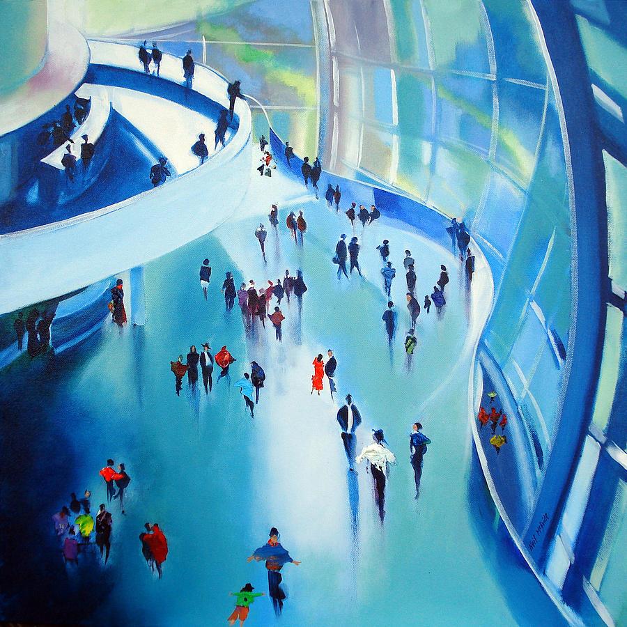 Sage Painting - Sage Gateshead by Neil McBride