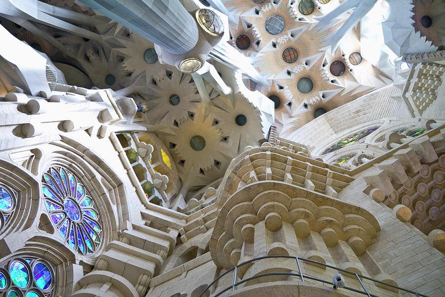 Sagrada Familia, Interior Photograph by Maremagnum