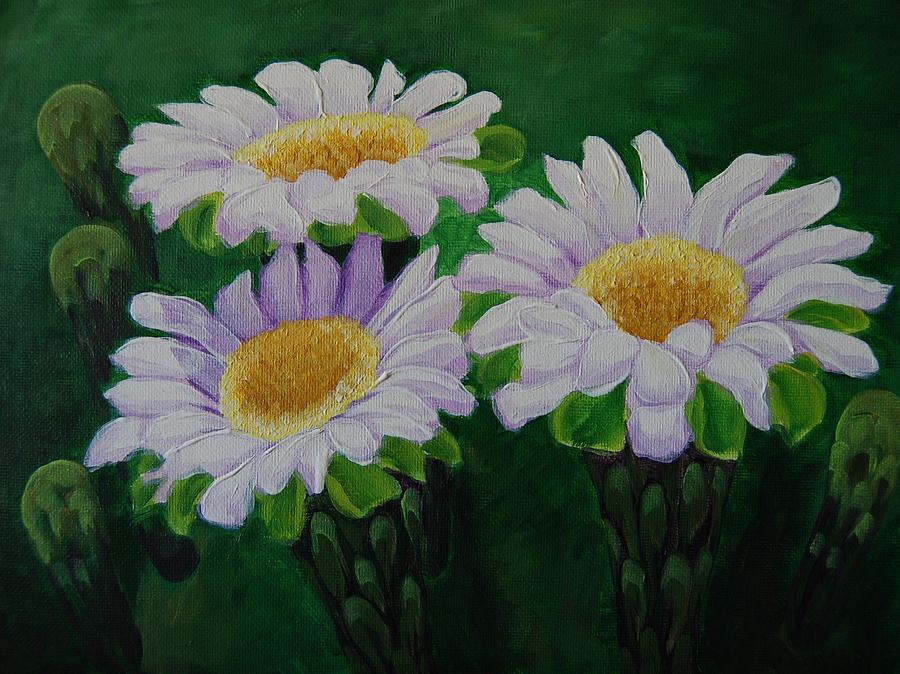 Saguaro Flowers by Cheryl Fecht
