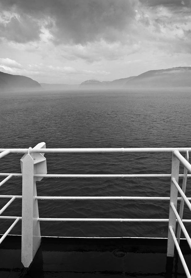 Black And White Photograph - Saguenay by Arkady Kunysz