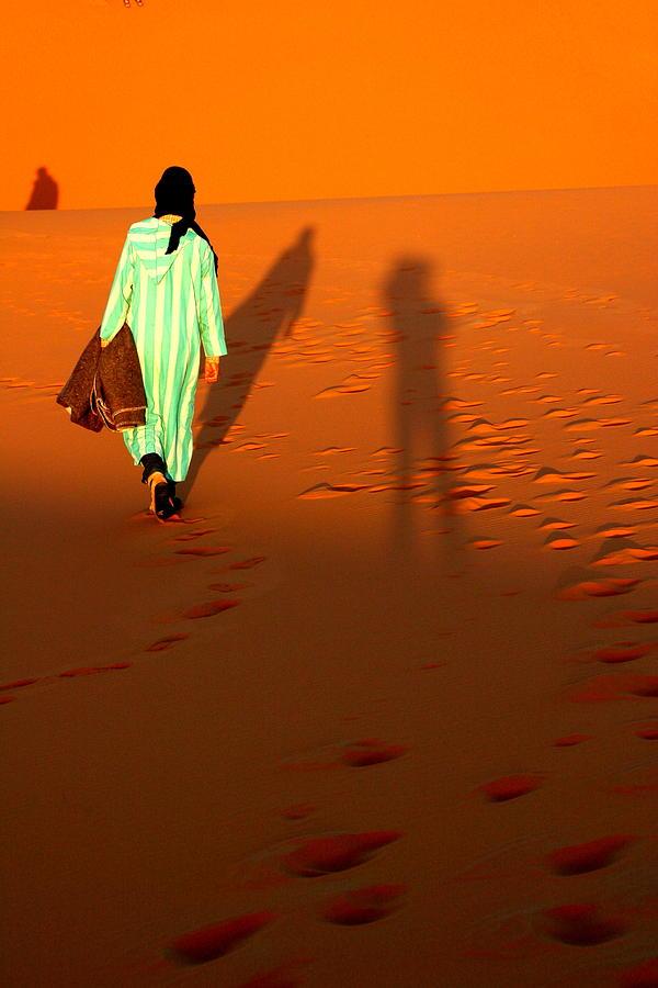 Sahara Photograph - Sahara Desert Bedouin by Arie Arik Chen