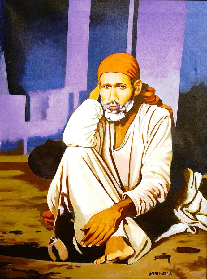Sai Baba Painting Art
