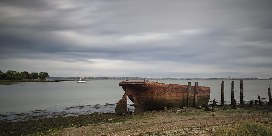 Rust Photograph - Sail Away by Nigel Jones