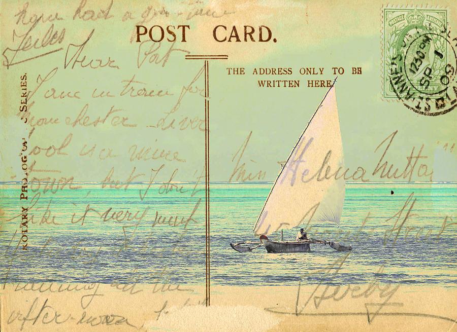 Sail Away Digital Art - Sail Away by Sarah Vernon