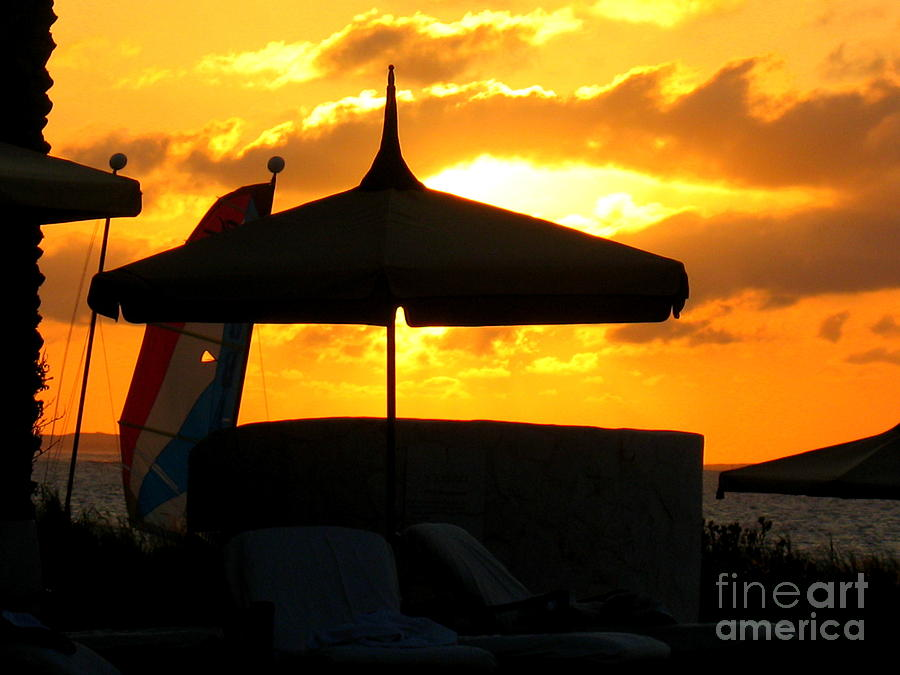 Sunset Photograph - Sail Away With Me by Patti Whitten
