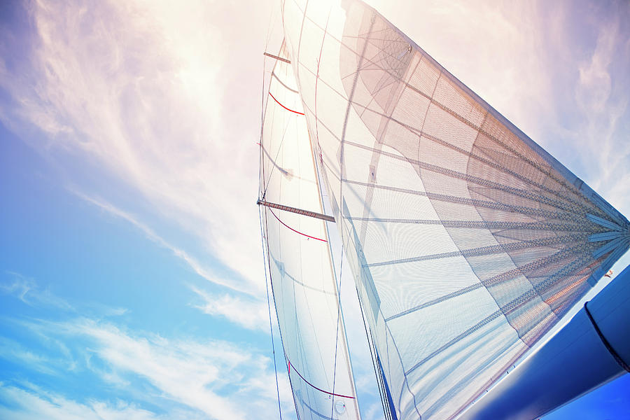 Sail Background Photograph by Travenian