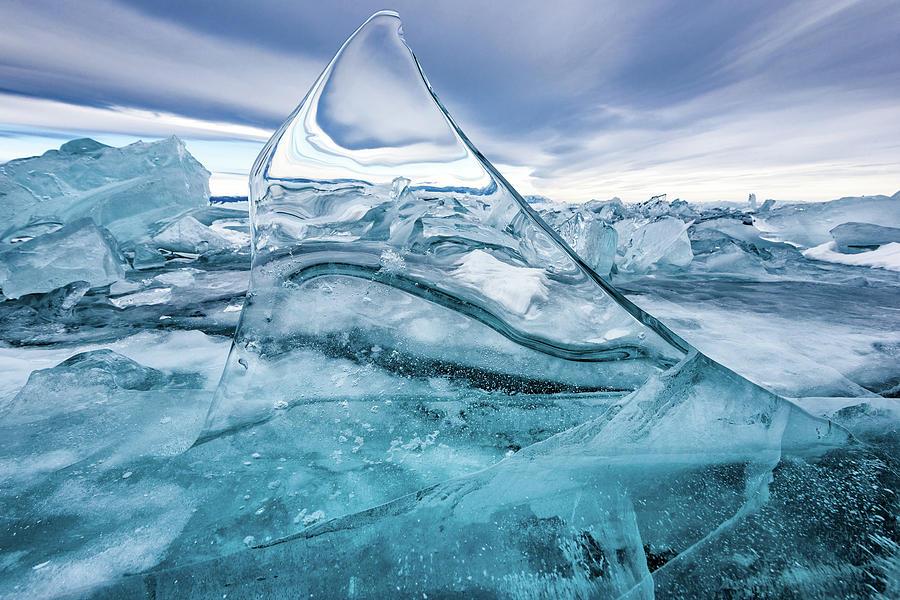 Baikal Photograph - Sail by Sergey Pesterev