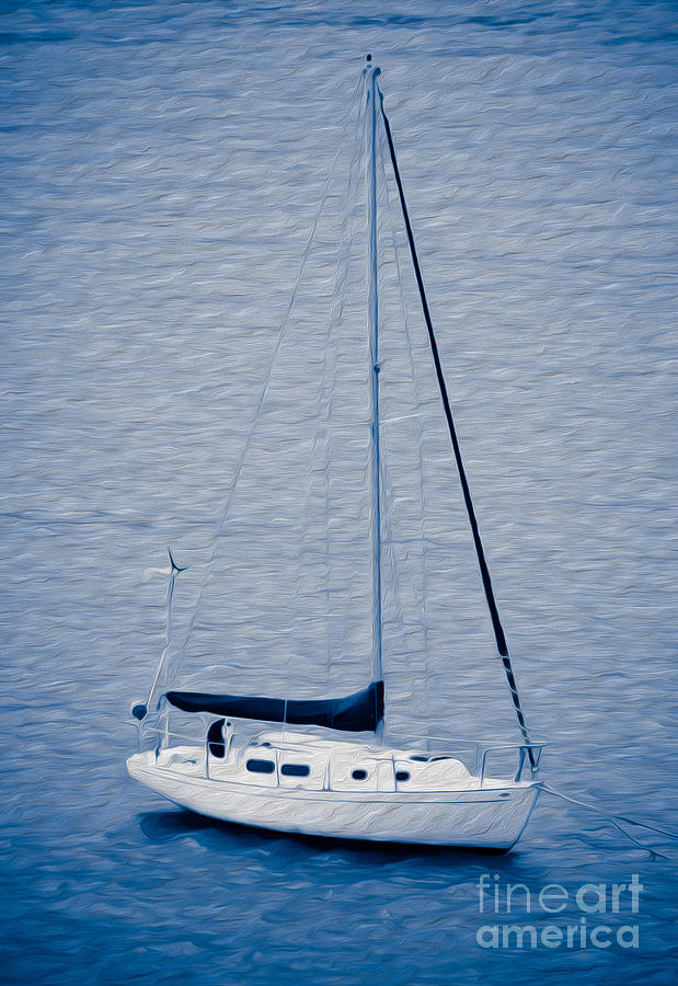 Sailboat Adventure Digital Art by Kenneth Montgomery