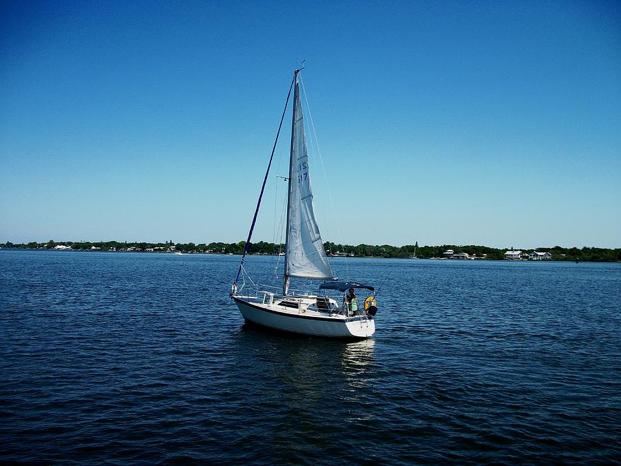 Sailboat Photograph by Bruce Kessler