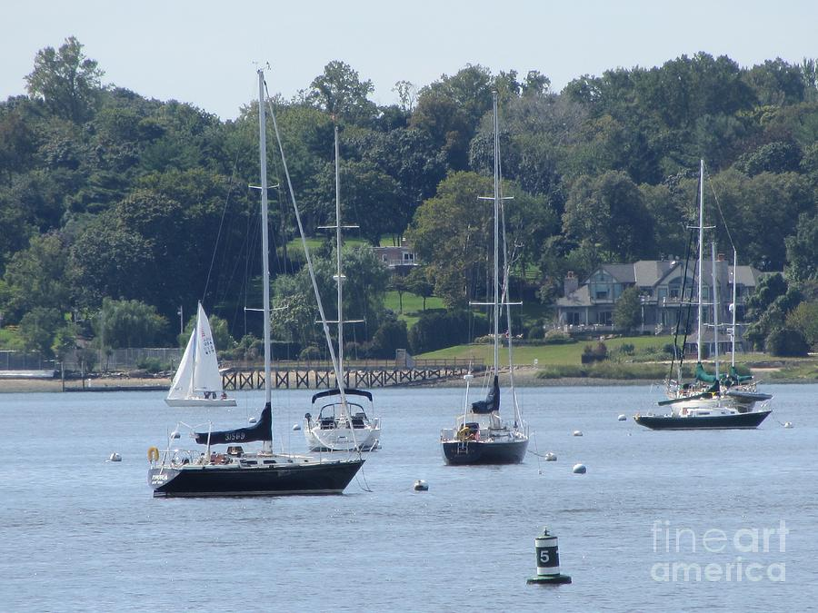 Sailboat Photograph - Sailboat Serenity by Debbie Nester
