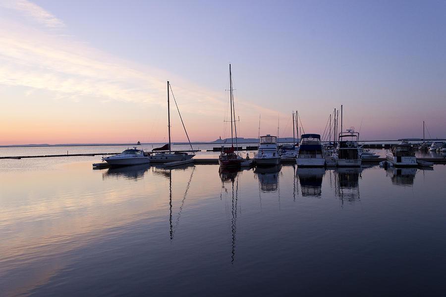 Sailboats Photograph - Sailboats by Linda Ryma