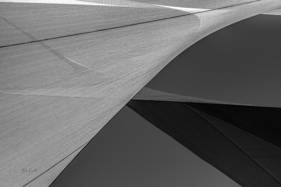 Abstract Photograph - Sailcloth Abstract Number 9 by Bob Orsillo