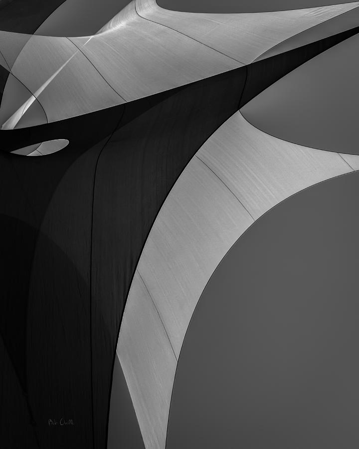 Abstract Photograph - Sailcloth Abstract Number Eight by Bob Orsillo
