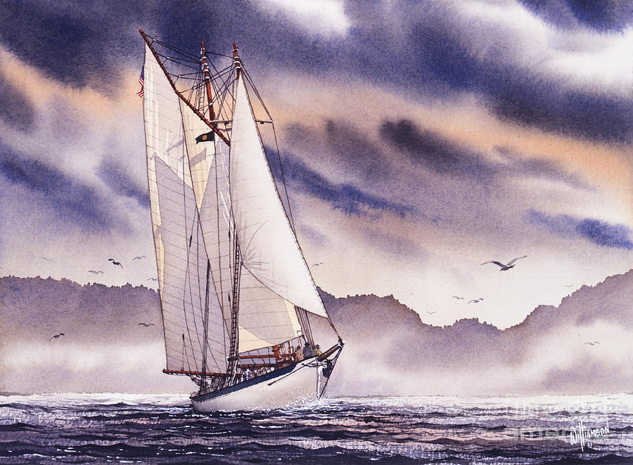 Sailing Adventure Painting by James Williamson